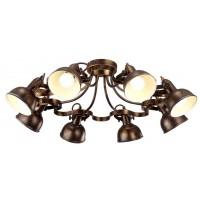 Потолочная люстра Arte Lamp Martin A5216PL-8BR