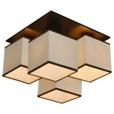 Потолочная люстра Arte Lamp Quadro A4402PL-4BK