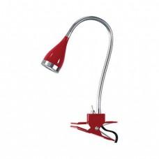 Настольная лампа Horoz красная 049-002-0003