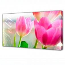 Холст Toplight Цветы 100х150х3см TL-H3015