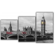 Мини модульная картина Лондонский мост Toplight 55х94см TL-MM1042