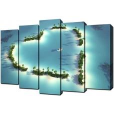 Модульная картина Toplight 80х125см TL-PM0004
