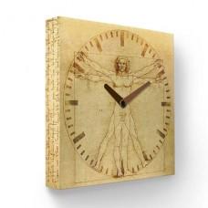 Настенные часы Витрувианский человек PB-016-35
