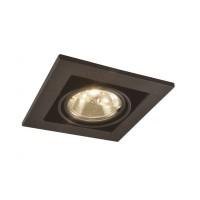 Встраиваемый светильник Arte Lamp Technika A5930PL-1BK