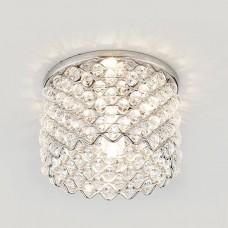 Встраиваемый светильник Ambrella light Crystal D9060 CH/CL