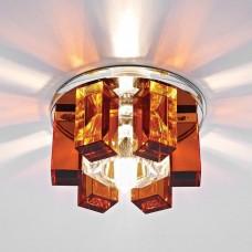 Встраиваемый светильник Ambrella light Desing D1017 CL/TI/CH