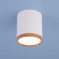 Потолочный светодиодный светильник Elektrostandard DLR024 6W 4200K белый матовый 4690389121951
