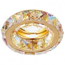 Встраиваемый светильник Ambrella light Crystal K112 PR/G