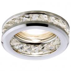 Встраиваемый светильник Ambrella light Crystal K105 CL/CH