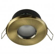 Встраиваемый светильник Maytoni Metal DL010-3-01-BZ