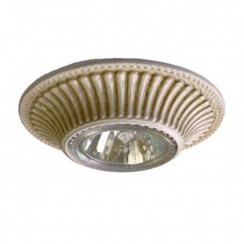 Встраиваемый светильник Reccagni Angelo SPOT 1078 bianco antico (Италия)