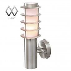 Уличный настенный светильник MW-Light Плутон 809020701