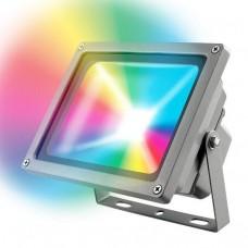 Прожектор светодиодный (UL-00001034) Uniel 30W ULF-S01-30W/RGB/RC IP65 110-240В