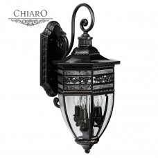 Уличный настенный светильник Chiaro Корсо 2 801020603
