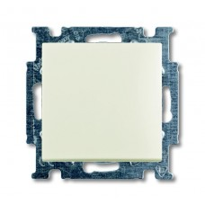 Выключатель одноклавишный ABB Basic55 10A 250V chalet-белый 2CKA001012A2184
