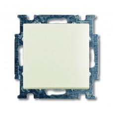 Выключатель кнопочный одноклавишный ABB Basic55 10A 250V chalet-белый 2CKA001413A1099