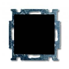 Выключатель одноклавишный ABB Basic55 10A 250V chateau-черный 2CKA001012A2174