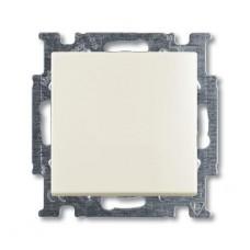 Выключатель кнопочный одноклавишный ABB Basic55 10A 250V слоновая кость 2CKA001413A1083