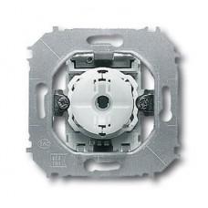 Выключатель кнопочный одноклавишный ABB Impuls 10A 250V с подсветкой N-клеммой 2CKA001413A1078