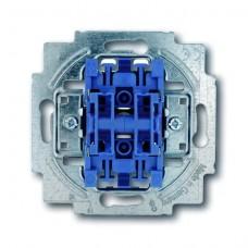 Выключатель двухклавишный ABB BJE 10A 250V 2CKA001012A2108