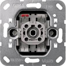 Выключатель клавишно-кнопочный Gira System 55 10A 250V 015100