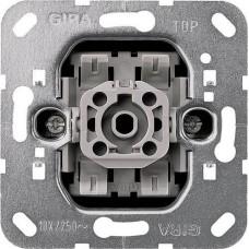 Переключатель одноклавишный перекрестный Gira System 55 10A 250V 010700