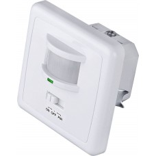 Датчик движения SNS-M-01 9m 1-1,8m 1200W IP20 160 Белый 4690389031960