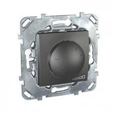 Диммер поворотный Schneider Electric Unica для ламп накаливания и галогенных 40-400W MGU5.511.12ZD