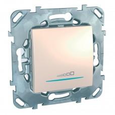 Диммер нажимной универсальный Schneider Electric Unica 20-350W MGU5.515.25ZD