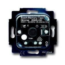 Диммер клавишный для л/н г/л ABB BJE 500W 2CKA006560A1207