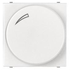 Диммер поворотный для LEDi ламп ABB Zenit альпийский белый N2260.3 BL