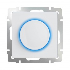 Диммер с подсветкой Werkel WL01-DM600-LED белый 4690389129711