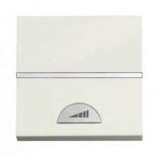 Диммер клавишный ABB Zenit альпийский белый N2260 BL