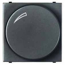 Диммер поворотный для LEDi ламп ABB Zenit антрацит N2260.3 AN