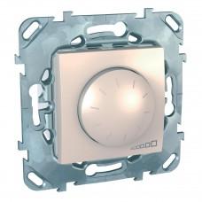 Диммер поворотный Schneider Electric Unica для ламп накаливания и галогенных 40-400W MGU5.511.25ZD
