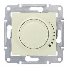 Диммер поворотный емкостный проходной Schneider Electric Sedna 60-500W SDN2200547