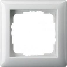 Рамка 1-постовая Gira Standard 55 чисто-белый глянцевый 021103