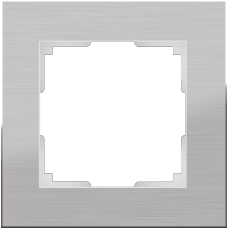 Рамка Aluminium на 1 пост алюминий WL11-Frame-01 4690389073625