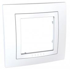 Рамка 1-постовая Schneider Electric Unica MGU2.002.18