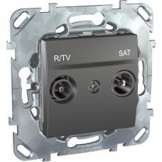 Розетка R-TV/SAT оконечная Schneider Electric Unica MGU5.455.12ZD