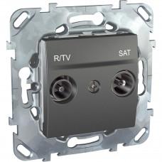 Розетка R-TV/SAT Schneider Electric Unica MGU5.454.12ZD