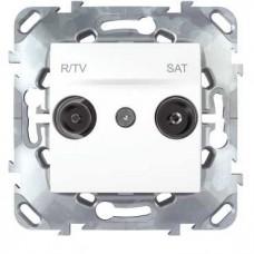 Розетка R-TV/SAT Schneider Electric Unica MGU5.454.18ZD
