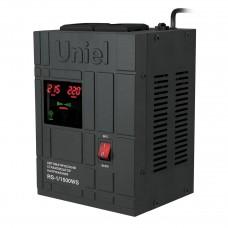 Стабилизатор напряжения Uniel (07380) 1500ВА RS-1/1500WS