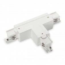 Коннектор T-образный левый Ideal Lux Link Trimless T-Connector Left White