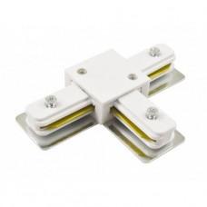 Соединитель для шинопроводов T-образный Horoz белый 096-001-0004