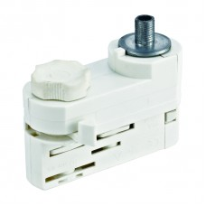 Адаптер для трехфазного шинопровода (09789) Uniel UBX-A61 Silver