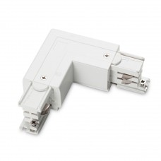 Коннектор L-образный левый Ideal Lux Link Trimless L-Connector Left White