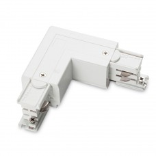 Коннектор L-образный правый Ideal Lux Link Trimless L-Connector Right White