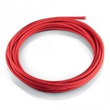 Кабель в оплетке Ideal Lux Cavo Tessuto Rosso (1M)