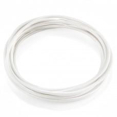 Кабель в оплетке Ideal Lux Cavo Tessuto Bianco (1M)